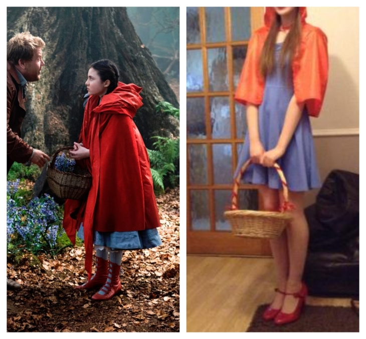 Little Red Riding Hood Into the Woods Fancy Dress Cosplay