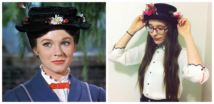 Mary Poppins Easy Fancy Dress